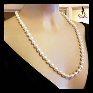 STRAND OF LARGE & SMALL PEARL NECKLACE